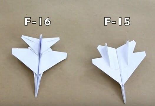 kağıttan f16 nasıl yapılır havalimanı